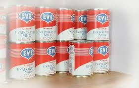 Eve Tin evaporated milk