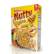 Sunshine Nutty Flakes – Cereal (9 servings/ 340 g)