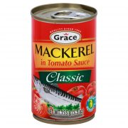 Grace Classic Canned Mackerel in tomato sauce (5.5 oz)