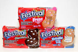 Festival Cookies 12 packs of 4.