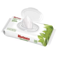 Huggies baby wipes (32 count)