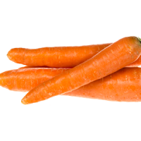Local Carrots per pound