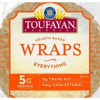 Toufayan Wraps (6 per pack)