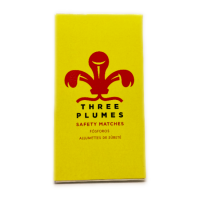 Three Plumes Safety Matches