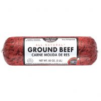 Ground beef per roll (single)