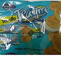 Tea Time Cream filled biscuits 10 pack