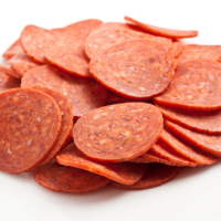 Pepperoni per 1/2 pound