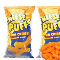 Cheese puffs (sunshine snacks) – Family bag, 215 g
