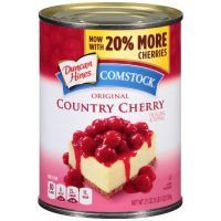 Canned Cherries in sauce (pie filling and topping) -21 oz