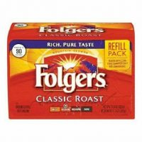 Folgers ground coffee (packs)