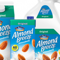 Blue Diamond Almond Breeze, almond milk (original)
