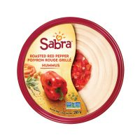 Sabra roasted red pepper hummus (10 oz)