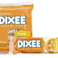 Dixee Cheese filled crackers (6 pack)