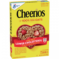 Cheerios – 100% whole grain oats