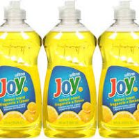 Ultra Joy Lemon Scent Dishwashing liquid