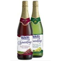 Welch's sparkling wine (non-alcoholic) 1 litre