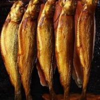 Smoked Herring fish per pound